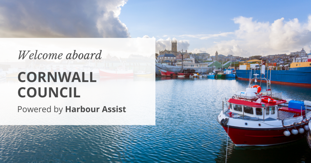 Welcome aboard Cornwall Council