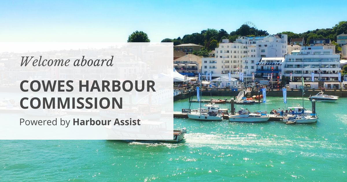 Welcome aboard Cowes Harbour