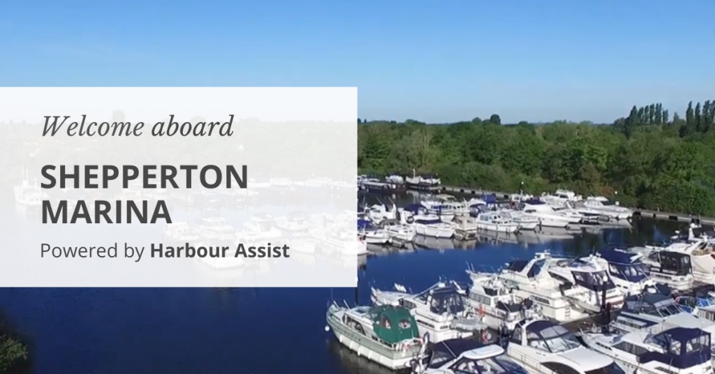 Welcome aboard, Shepperton Marina