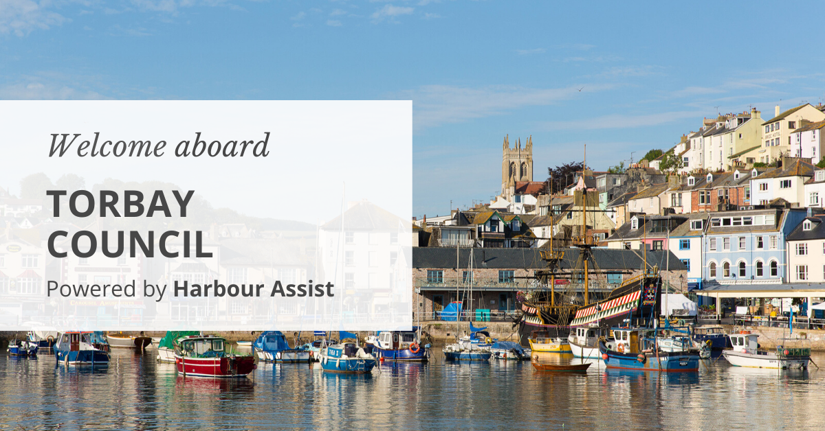Welcome aboard Torbay Council