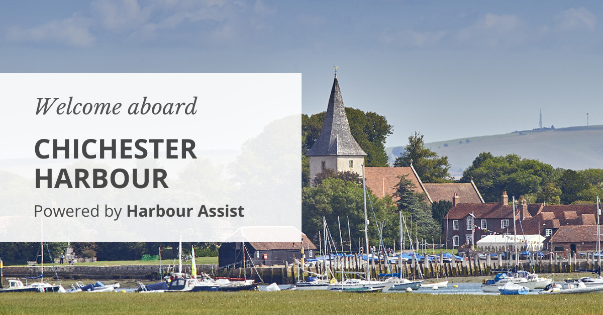 Chichester Harbour Conservancy uses Harbour Assist