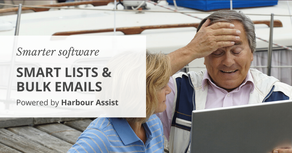 Smart lists and bulk email in Harbour Assist