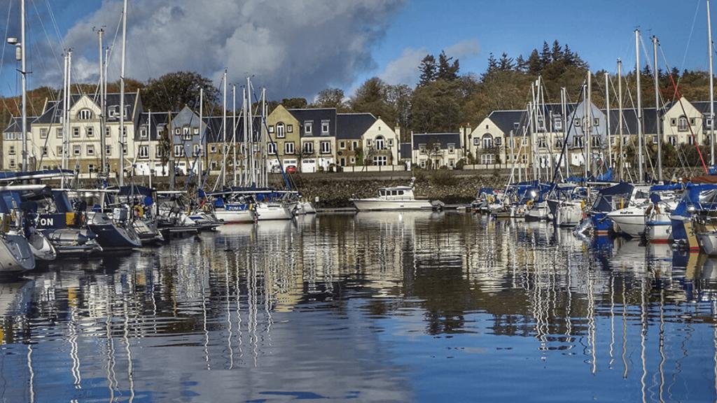 Gateway to Scotland's west coast Harbour Assist