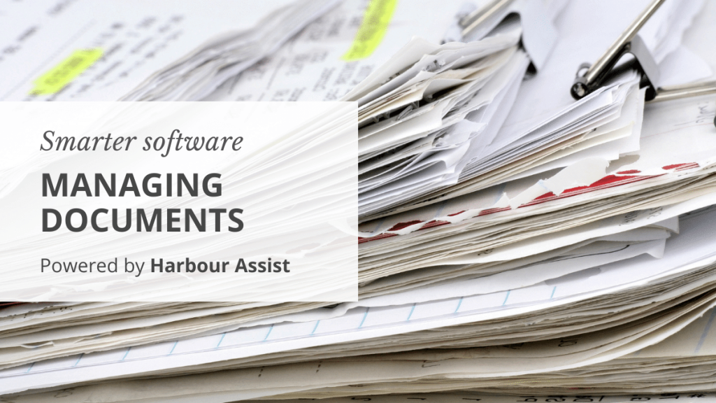 Uploading documents to Harbour Assist